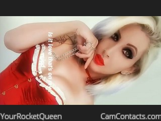Webcam model YourRocketQueen from CamContacts