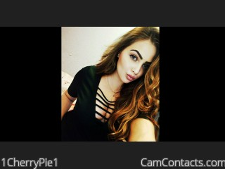 Webcam model 1CherryPie1 from CamContacts