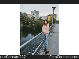 Webcam model our0dream222 from CamContacts