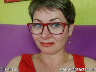 Webcam model EllenFire from CamContacts