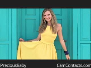 Webcam model PreciousBaby from CamContacts