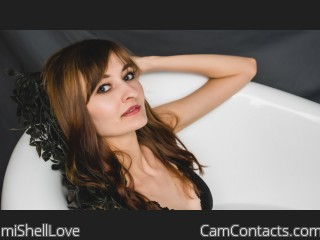 Webcam model miShellLove from CamContacts
