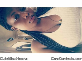 Webcam model CuteMissHanna from CamContacts