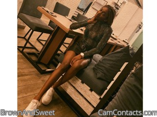 Webcam model BrownAndSweet from CamContacts