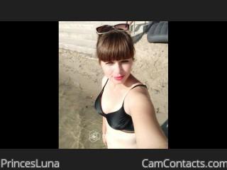 Webcam model PrincesLuna from CamContacts
