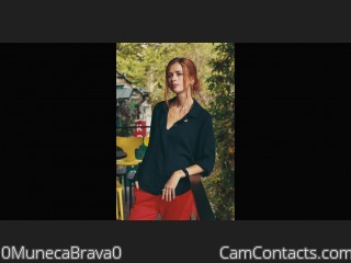 Webcam model 0MunecaBrava0 from CamContacts