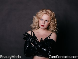 Webcam model BeautyMaria from CamContacts