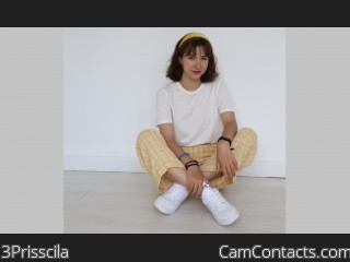 Webcam model 3Prisscila from CamContacts