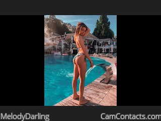 Webcam model MelodyDarling from CamContacts
