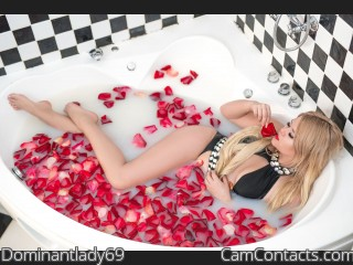 Webcam model Dominantlady69 from CamContacts
