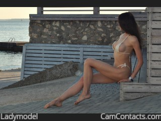 Webcam model Ladymodel from CamContacts