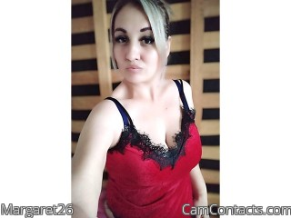 Webcam model Margaret26 from CamContacts