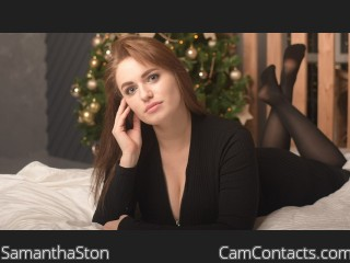 Webcam model SamanthaSton profile picture