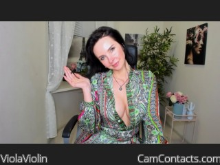 Webcam model ViolaViolin from CamContacts