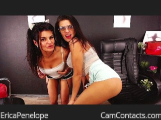 Webcam model EricaPenelope from CamContacts