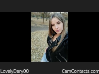 Webcam model LovelyDary00 from CamContacts