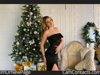 Webcam model ImUrNewPage from CamContacts