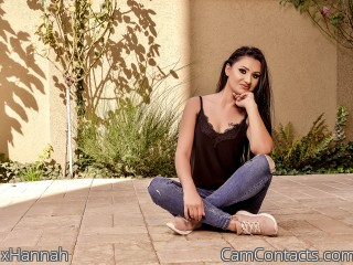 Webcam model xHannah from CamContacts