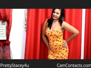 Webcam model PrettyStacey4u from CamContacts