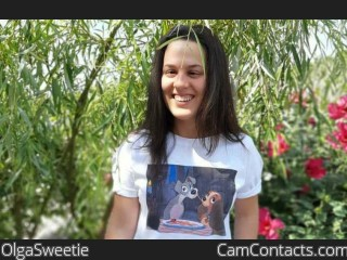 Webcam model OlgaSweetie from CamContacts