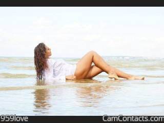 Webcam model 959love from CamContacts