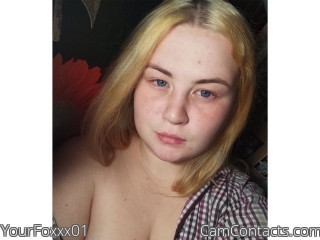 Webcam model YourFoxxx01 from CamContacts