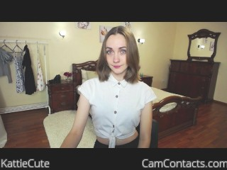Webcam model KattieCute from CamContacts
