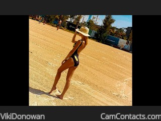 Webcam model VikiDonowan from CamContacts