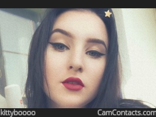 Webcam model kittyboooo from CamContacts