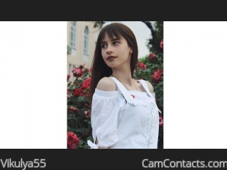 Webcam model Vikulya55 from CamContacts