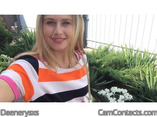 Webcam model Daenerysxs from CamContacts