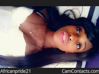 Africanpride21's profile