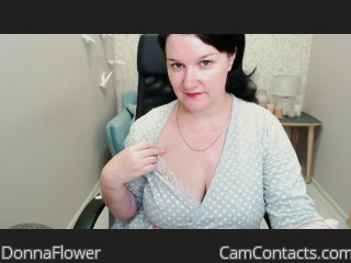 Webcam model DonnaFlower from CamContacts