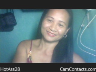 Webcam model HotAss28 from CamContacts