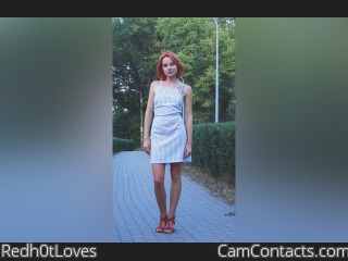 Webcam model Redh0tLoves from CamContacts