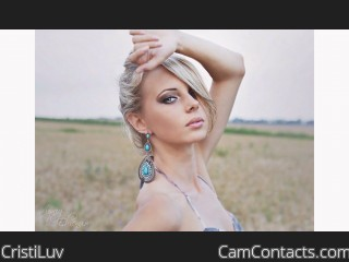 Webcam model CristiLuv from CamContacts