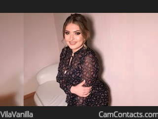 Webcam model VilaVanilla from CamContacts