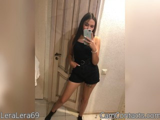 Webcam model LeraLera69 from CamContacts