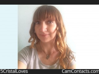 Webcam model 5CristalLoves from CamContacts