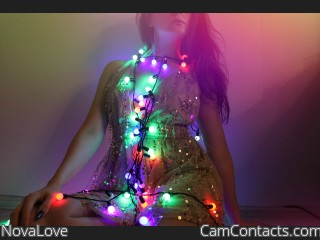 Webcam model NovaLove from CamContacts