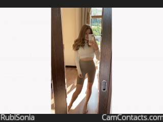 Webcam model RubiSonia from CamContacts