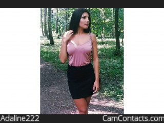 Webcam model Adaline222 from CamContacts