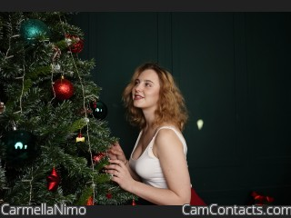 Webcam model CarmellaNimo from CamContacts