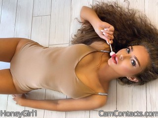 Webcam model HoneyGirl1 from CamContacts