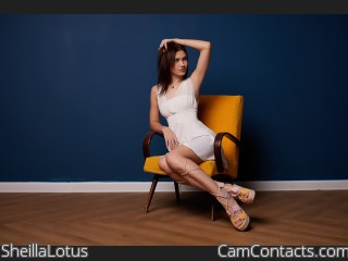 Webcam model SheillaLotus from CamContacts