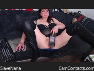 Webcam model SlaveNana from CamContacts