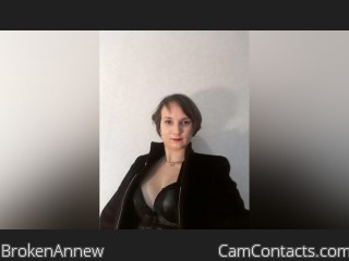 Webcam model BrokenAnnew from CamContacts