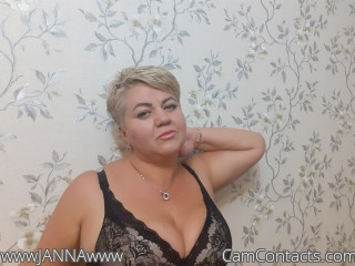 Webcam model wwwJANNAwww from CamContacts