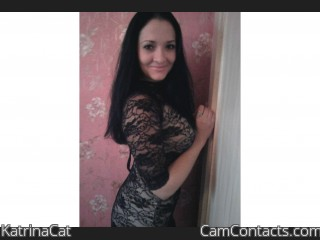 Webcam model KatrinaCat from CamContacts