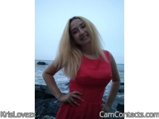 Webcam model KrisLovezx from CamContacts